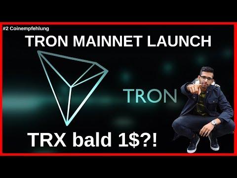 #2 Coinanalyse: TRON bald MainNet launch – TRX im Juni bei 1$?!