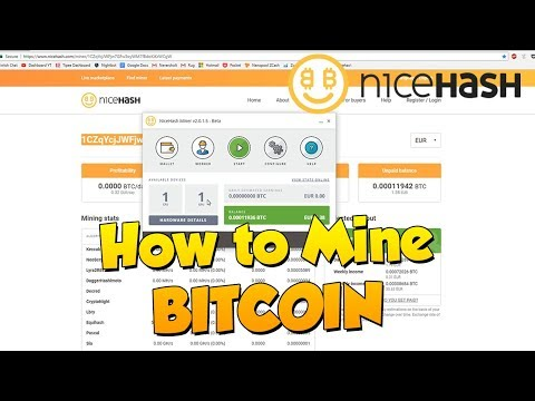 How to start mining Bitcoin or Ethereum with your Gaming PC in 2018! (Nicehash Miner tutorial)