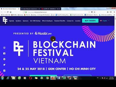 Kyber Network và Blockchain Festival Vietnam 2018