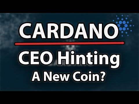 Cadano (ADA) Update & Hints Towards A New Coin By CEO?