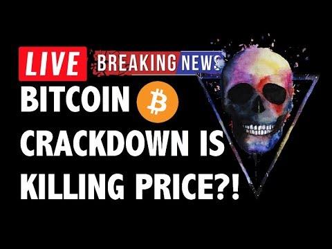 CRYPTO: BITCOIN PRICE KILL?! CRYPTOCURRENCY CRASH,LITECOIN,ETHEREUM,XRP RIPPLE,TRON TRX,EOS,BTC NEWS