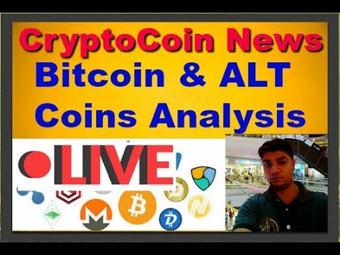 Cryptocoin News #12: Tron Acquiring BitTorrent, Bitcoin, Tron, Burst, DGB & XVG Analysis