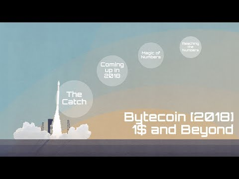Bytecoin [BCN] (2018) 1$ and Beyond