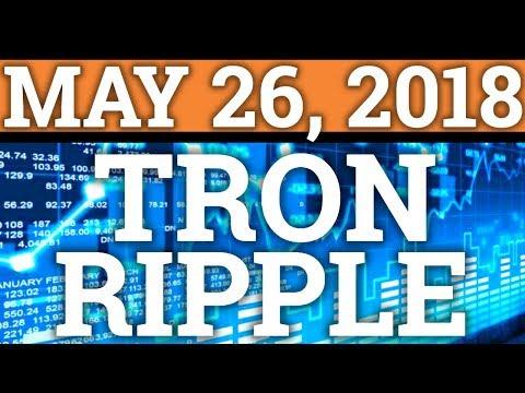 RIPPLE XRP AMAZON PARTNERSHIP? TRON TRX NEW ACQUISITION! CRYPTOCURRENCY CRASH + PRICE PREDICTION