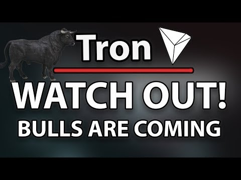 WATCH OUT! TRON (TRX) BULLS ARE COMING! & TRX Price During/After Main Net Launch?