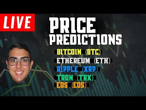 Price Predictions: Bitcoin (BTC), Ethereum (ETH), Ripple (XRP), and Tron (TRX)!