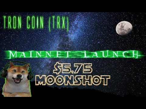 TRON COIN (TRX) Expected to Jump to $5.75 After May 31st!? Huge News! TRX Price Prediction 2018