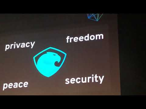 Aragon's presentation at Blockchain Summit in Zug, Switzerland
