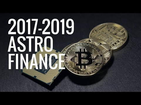 #99. BITCOIN, DOW JONES, S&P500, GOLD / U.S STOCK MARKET SUMMERY 2017-2019 ; ASTRO FINANCE by Osher