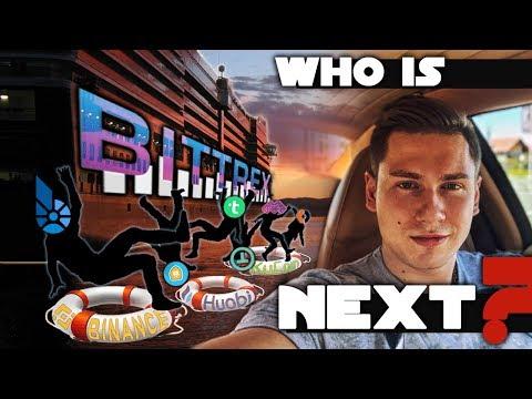 Массовый делистинг с крипто биржи Bittrex: BitShares,TRIG,MYST,BitcoinDark,WeTrust… Who is next?