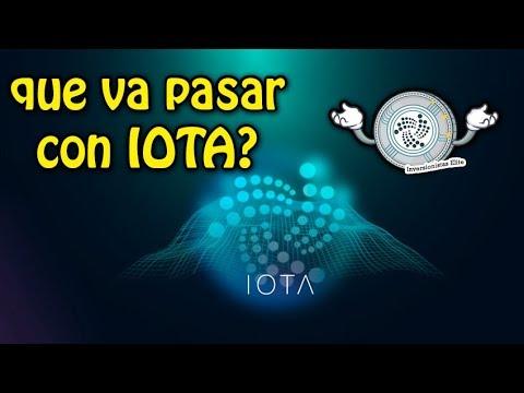 que va pasar con IOTA? y bitcoin sigue a la baja