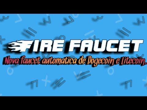Ganhe Dogecoin e Litecoin de forma automática com a Firefaucet.win!