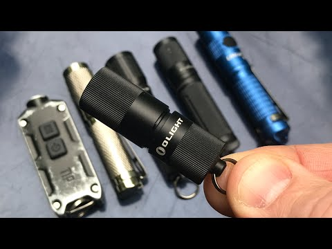 My Favorite Keychain Light: NEW Olight i1R EOS Flashlight | 130 Lumens, .42 Ounces – But Powerful!