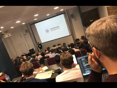 IOHK | Developers' meetup for Cardano, University College London