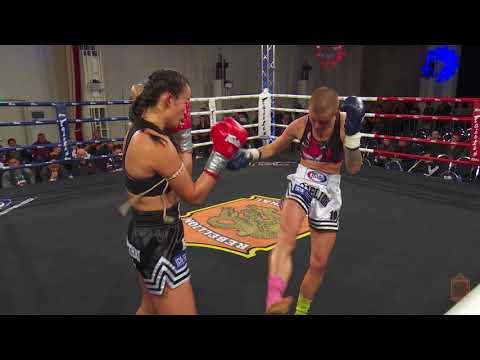 Brooke Farrell (Tiger Muay Thai) vs Spring Sia @ Rebellion 19