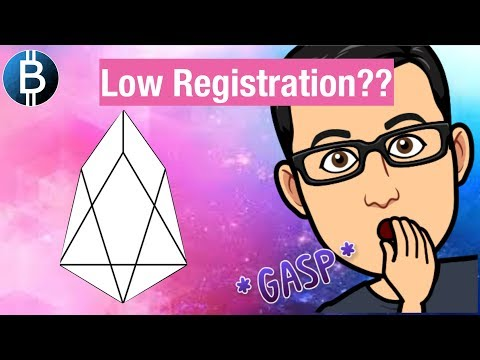 EOS Low Registration Numbers Under 50%… What Does This Mean For You?