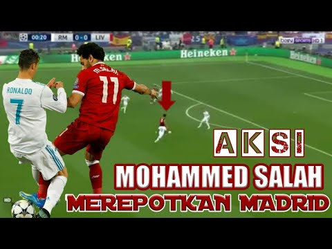 Aksi Memukau Mo Salah Madrid Tak Berdaya Ada Mohammed Salah || Liverpool vs Real madrid