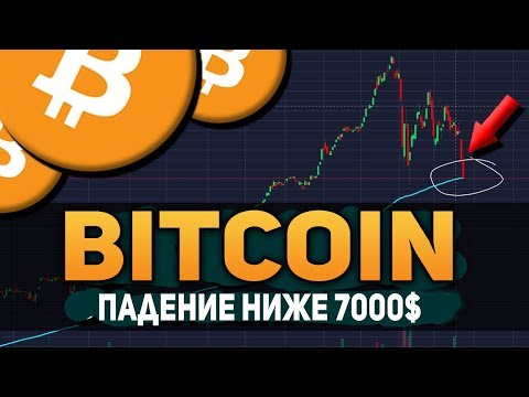 Биткоин Падение Ниже 7000$ Биржа Poloniex Отжимает Bitcoin Май 2018 Прогноз