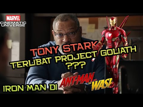 Apa Iron Man Bakal Ada Di Ant-Man and The Wasp ? Project GOLIATH Berhubungan Dengan Tony Stark ?