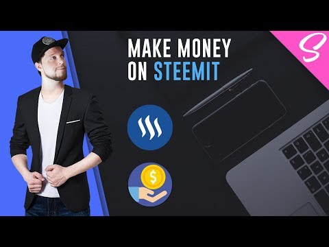 How To MAKE MONEY As A Designer On STEEMIT