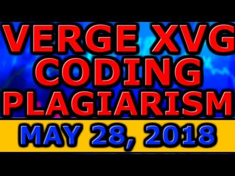 Verge XVG Coding PLAGIARISM?! Poloniex FREEZING Unverified ACCOUNTS! UK National CRYPTOCURRENCY?!