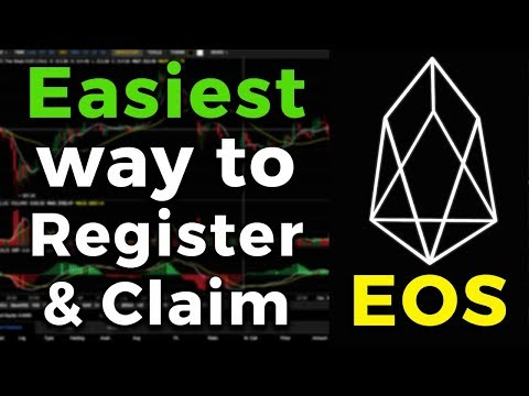 The Easiest way to Register & Claim your EOS MainNet Tokens