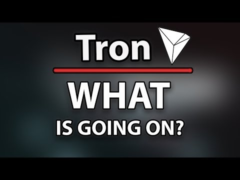 TRON (TRX) What's Happening? – SHOULD YOU BE WORRIED ABOUT THE PRICE?