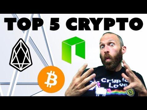 Top 5 Crypto for June – $BTC, $EOS, $NEO (plus some surprises…)