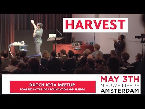 Harvest Video of the 3rd Dutch IOTA Meetup