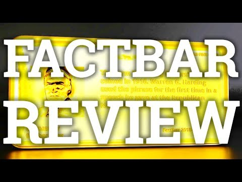 CRYPTOCURRENCY COLLECTIBLES | FACTBAR REVIEW