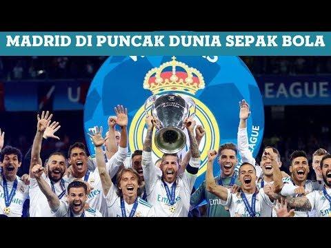 """""""Real Madrid Ada di Puncak Dunia Sepakbola, Tak Ada yang Menandingi"""""""