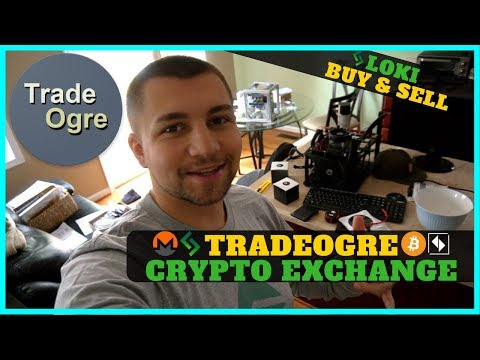 TradeOgre Cryptocurrency Exchange Review – Buying and Selling LOKI @ 10000 Satoshi