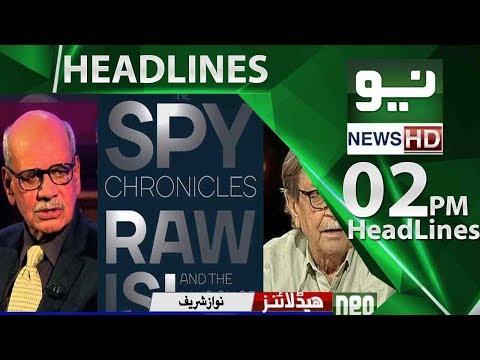 Neo News Headlines,02:00PM | Neo News | 29 May 2018