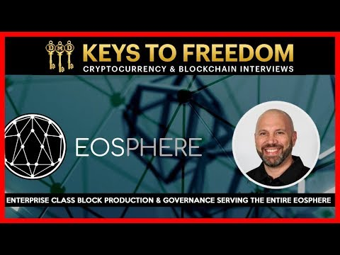 EOS Block Producer EOSphere Cryptocurrency Interview With Ross Dold