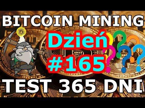BITCOIN MINING Czerwiec 2018 Eksperyment Dzień #165 Opłacalność Kopania Bitcoina w Chmurze