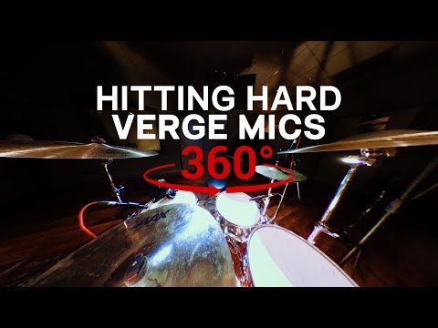 Hitting Hard with The Verge Mics in 360