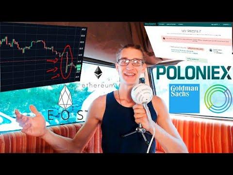 Poloniex Marcio | Il Crollo ETH Orchestrato da EOS | Annuncio Regalo Per Community | Analisi BTC