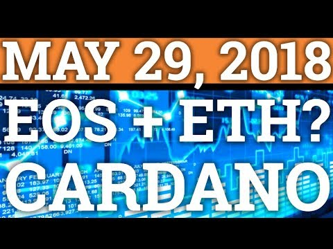 EOS MANIPULATING ETH PRICE? CARDANO ADA NEWS! CRYPTOCURRENCY COIN PREDICTION + BITCOIN BTC CRASH!