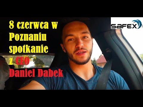 SAFEX spotkanie 8 czerwca w POZNANIU z CEO DANIEL DABEK!!!
