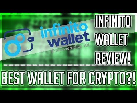 Infinito Wallet Application REVIEW! World's FIRST Universal Wallet?! Best Cryptocurrency Wallet!!