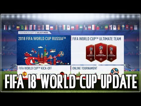Beberapa Hal Yang Perlu Diketahui Tentang FIFA 18 World Cup Update (Ada Timnas Indonesia?!)
