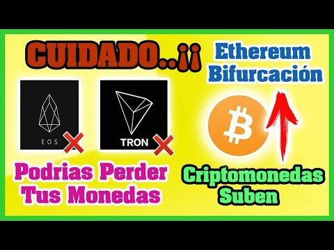 CUIDADO: EOS, TRON Podrías PERDER tus monedas, CRIPTOMONEDAS SUBEN