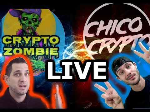Chico Crypto and Crypto Zombie Live | What's Causing this Pamp? | $PPI $EOS $NEO $ELA