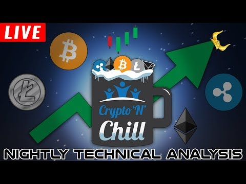 Crypto'N'Chill Episode 96 – Relaxed Nightly Cryptocurrency Technical Analysis Learning