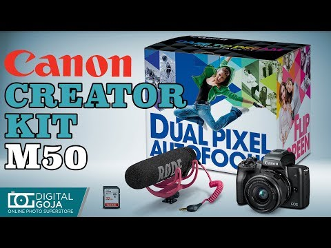 Canon EOS M50 Video Creator Kit | Overview