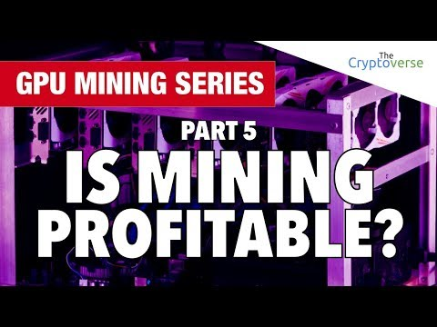 Cryptocurrency Mining Is No Longer Profitable For The Mainstream?