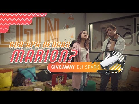 Ada Apa Dengan Marion? | Episode 1 – Giveaway DJI Spark