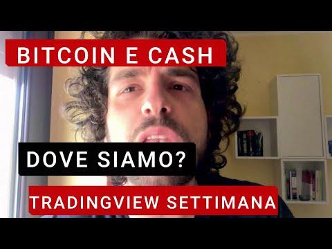 Bitcoin e bitcoin cash. Possibile RIALZO? Tradingview della settimana.
