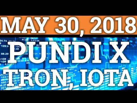 TRON TRX, PUNDI X NPXS, IOTA NEWS! PRICE PREDICTION + CRYPTOCURRENCY + BITCOIN BTC CRASH 2018!