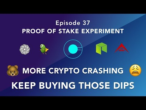 Proof of stake experiment episode 37 – Cryptocurrency pumps and dumps – buy those dips